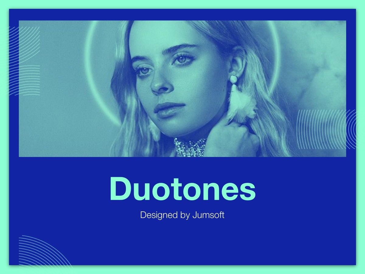 Duotones Google Slides Template, Slide 10, 05093, Presentation Templates — PoweredTemplate.com