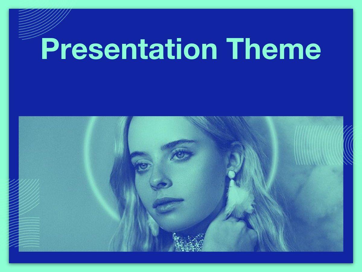 Duotones Google Slides Template, Slide 12, 05093, Presentation Templates — PoweredTemplate.com