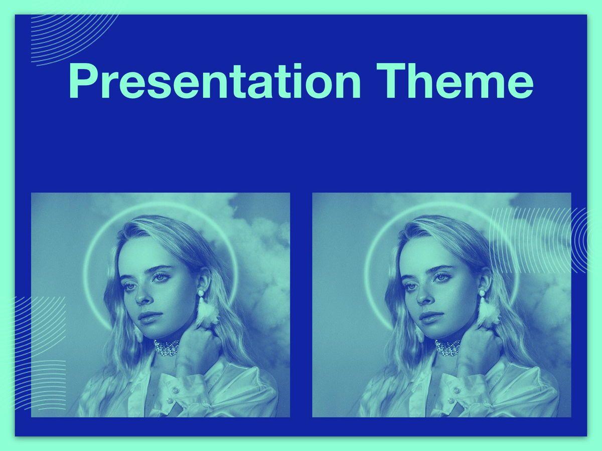Duotones Google Slides Template, Slide 13, 05093, Presentation Templates — PoweredTemplate.com
