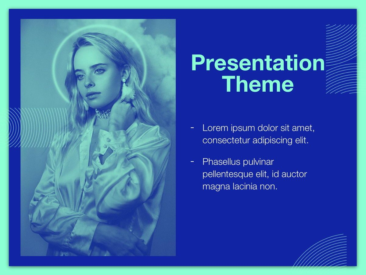 Duotones Google Slides Template, Slide 15, 05093, Presentation Templates — PoweredTemplate.com