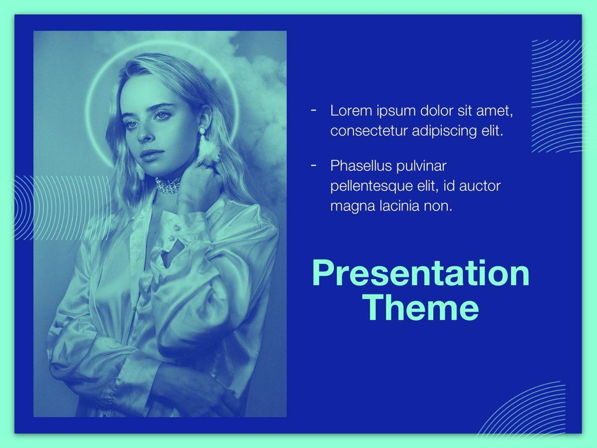 Duotones Google Slides Template, Slide 17, 05093, Presentation Templates — PoweredTemplate.com