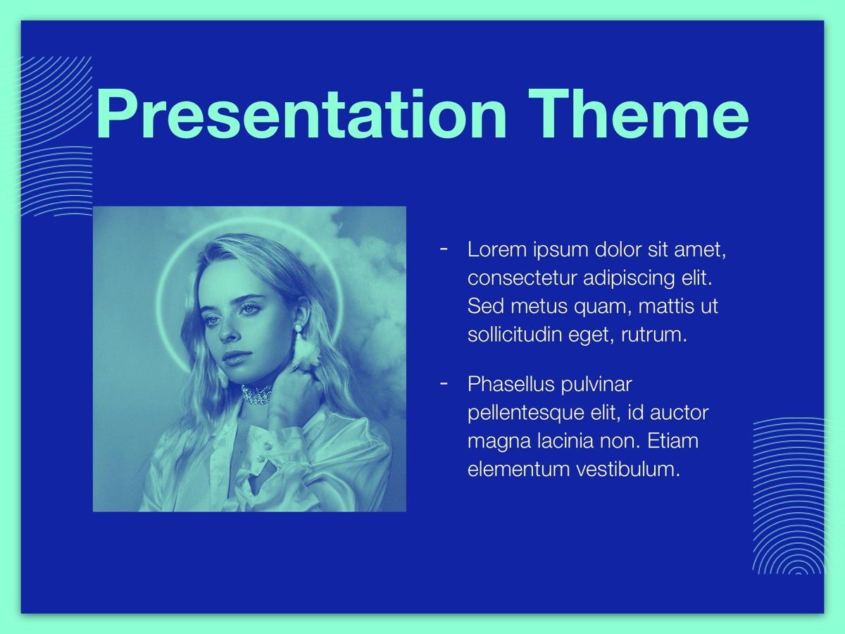 Duotones Google Slides Template, Slide 28, 05093, Presentation Templates — PoweredTemplate.com