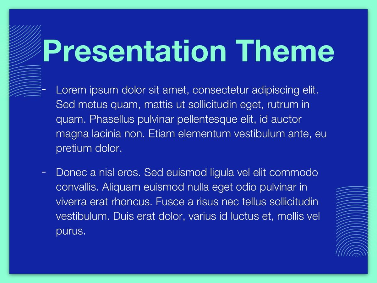 Duotones Google Slides Template, Slide 3, 05093, Presentation Templates — PoweredTemplate.com