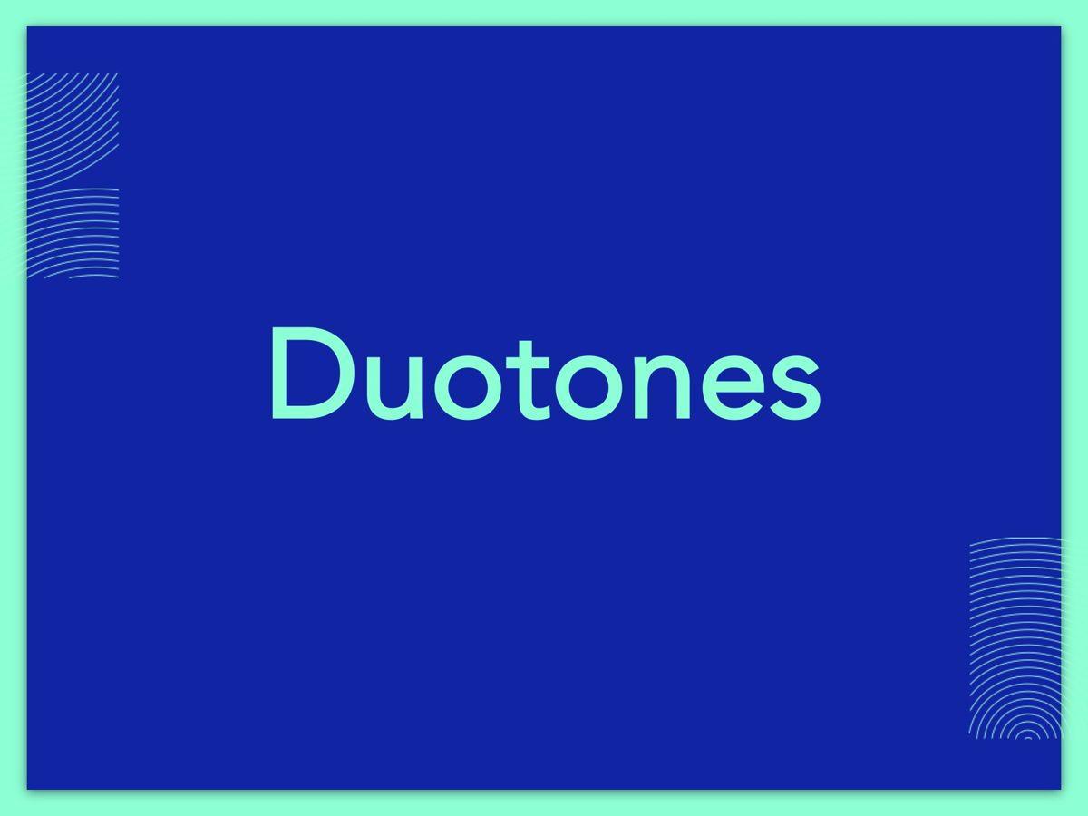 Duotones Google Slides Template, Slide 7, 05093, Presentation Templates — PoweredTemplate.com