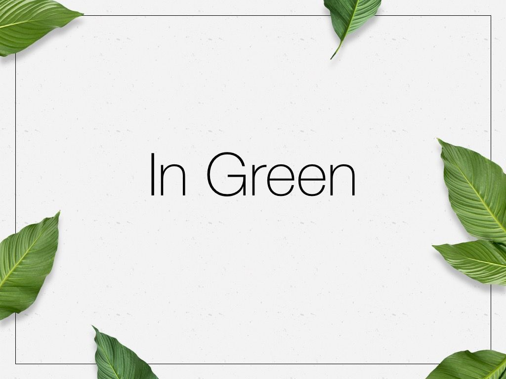 In Green PowerPoint Theme, Slide 10, 05094, Presentation Templates — PoweredTemplate.com
