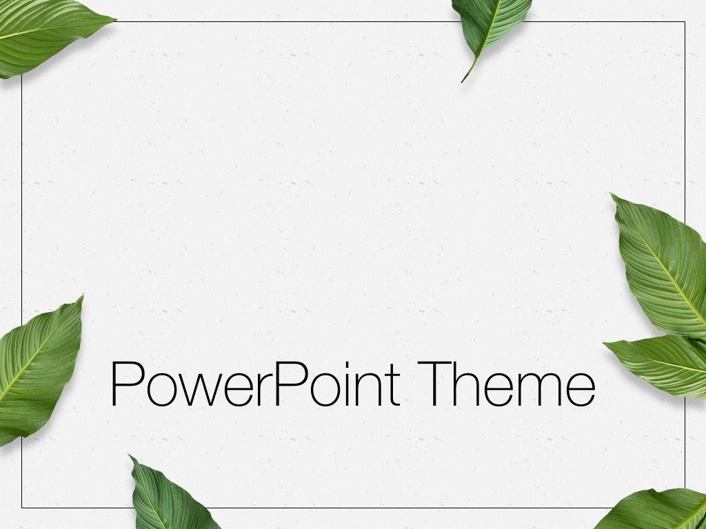 In Green PowerPoint Theme, Slide 11, 05094, Presentation Templates — PoweredTemplate.com