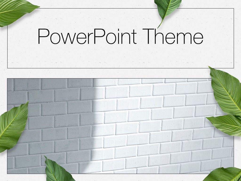 In Green PowerPoint Theme, Slide 15, 05094, Presentation Templates — PoweredTemplate.com
