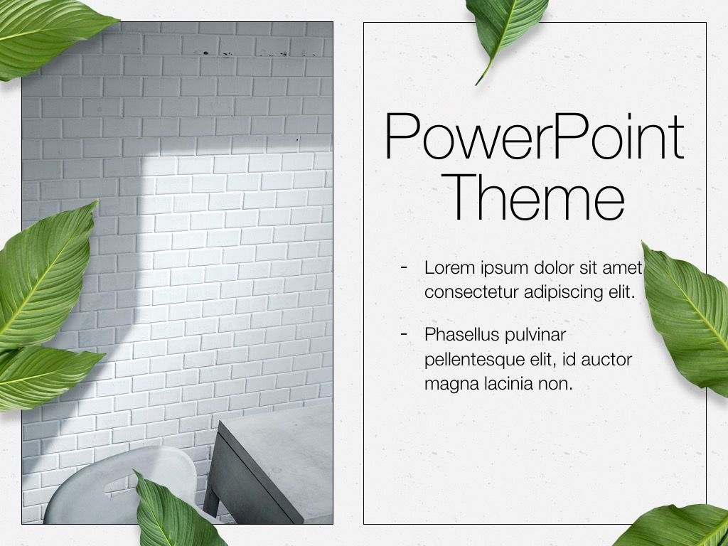 In Green PowerPoint Theme, Slide 18, 05094, Presentation Templates — PoweredTemplate.com