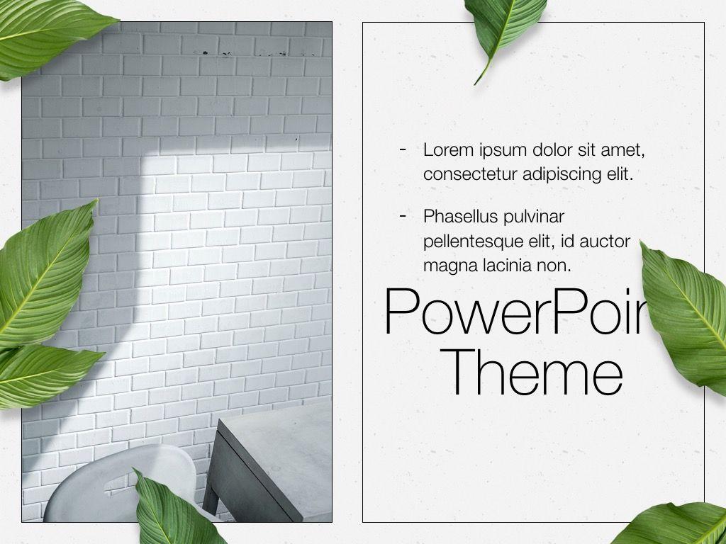 In Green PowerPoint Theme, Slide 20, 05094, Presentation Templates — PoweredTemplate.com