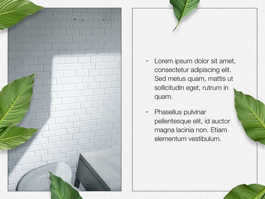 In Green PowerPoint Theme, Slide 22, 05094, Presentation Templates — PoweredTemplate.com