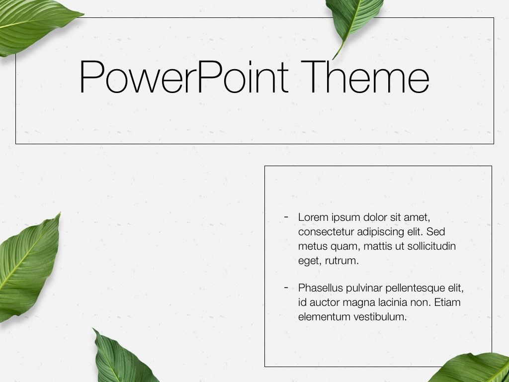 In Green PowerPoint Theme, Slide 33, 05094, Presentation Templates — PoweredTemplate.com