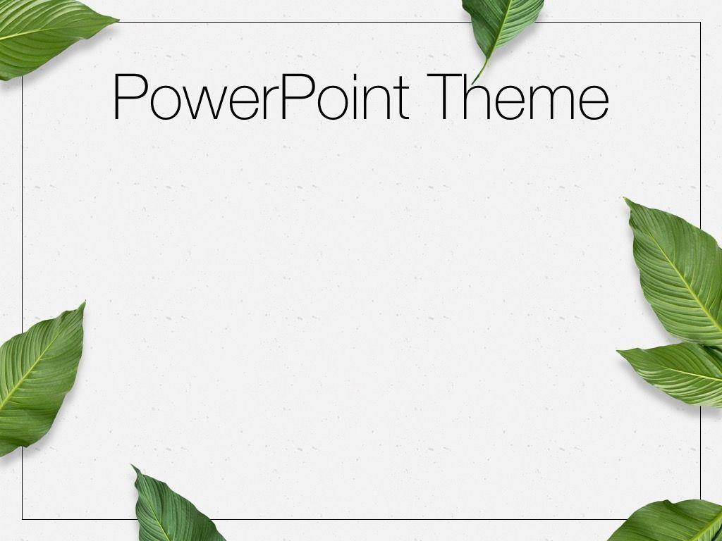 In Green PowerPoint Theme, Slide 9, 05094, Presentation Templates — PoweredTemplate.com