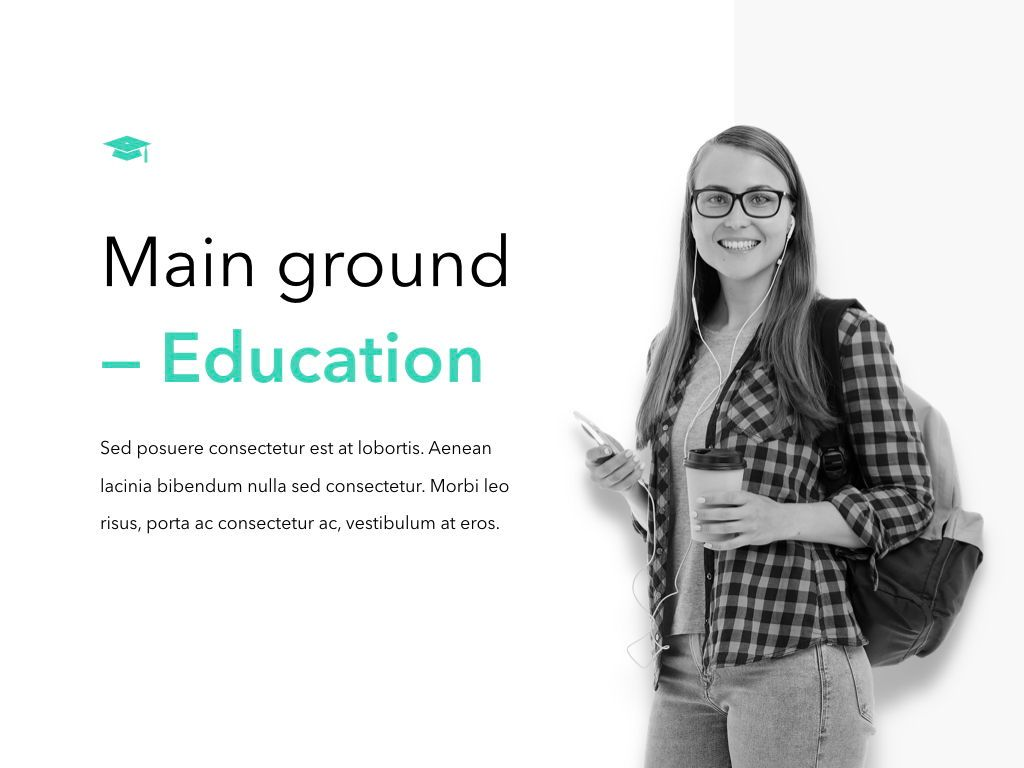 Need Education Keynote Template, Slide 2, 05095, Education Charts and Diagrams — PoweredTemplate.com