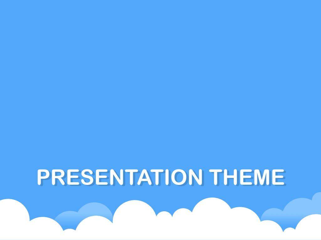 Cloudy Keynote Theme, Slide 10, 05096, Presentation Templates — PoweredTemplate.com
