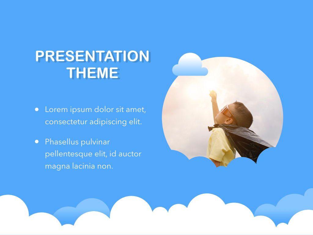 Cloudy Keynote Theme, Slide 17, 05096, Presentation Templates — PoweredTemplate.com