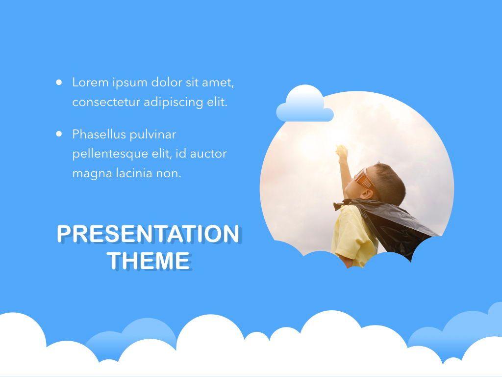 Cloudy Keynote Theme, Slide 19, 05096, Presentation Templates — PoweredTemplate.com