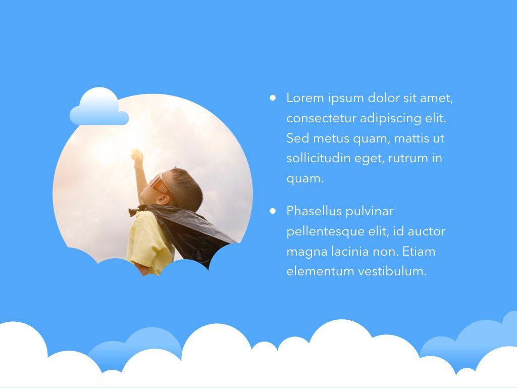 Cloudy Keynote Theme, Slide 22, 05096, Presentation Templates — PoweredTemplate.com
