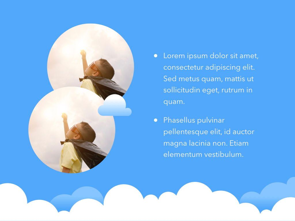 Cloudy Keynote Theme, Slide 24, 05096, Presentation Templates — PoweredTemplate.com