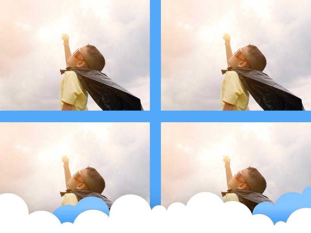 Cloudy Keynote Theme, Slide 29, 05096, Presentation Templates — PoweredTemplate.com