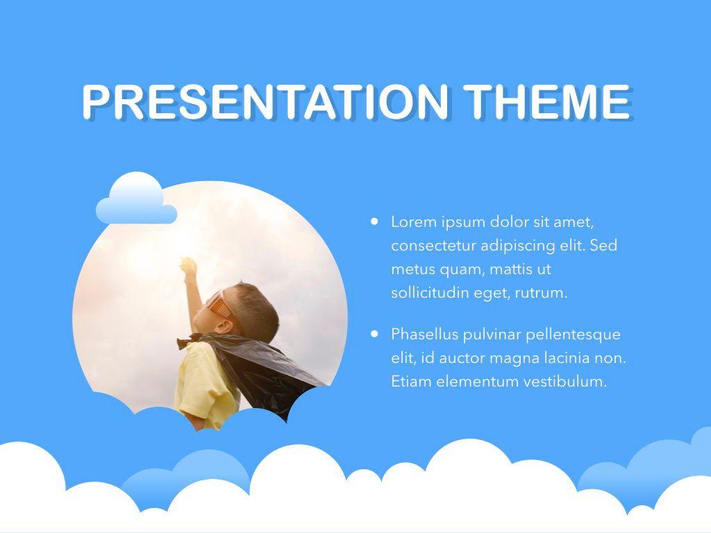 Cloudy Keynote Theme, Slide 31, 05096, Presentation Templates — PoweredTemplate.com