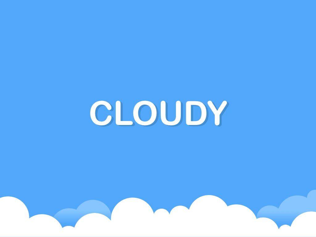 Cloudy Keynote Theme, Slide 9, 05096, Presentation Templates — PoweredTemplate.com