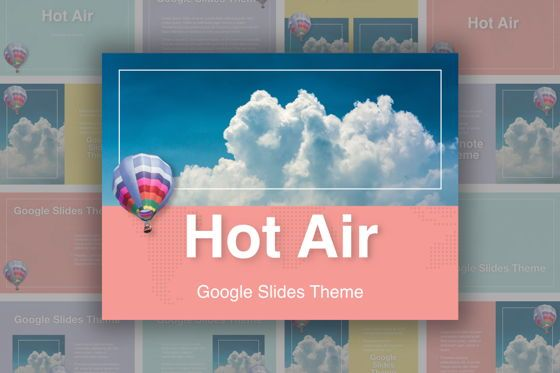 Presentation Templates: Hot Air Google Slides Theme #05097