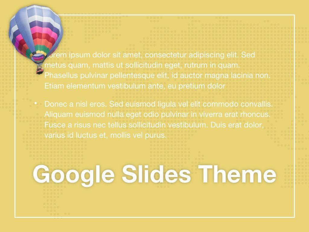 Hot Air Google Slides Theme, Slide 10, 05097, Presentation Templates — PoweredTemplate.com
