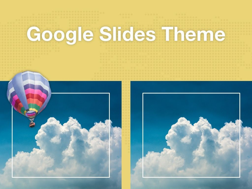 Hot Air Google Slides Theme, Slide 13, 05097, Presentation Templates — PoweredTemplate.com