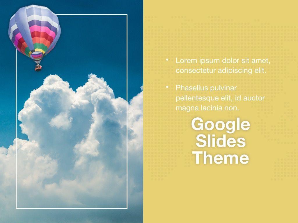 Hot Air Google Slides Theme, Slide 17, 05097, Presentation Templates — PoweredTemplate.com