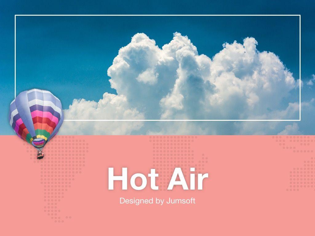 Hot Air Google Slides Theme, Slide 2, 05097, Presentation Templates — PoweredTemplate.com