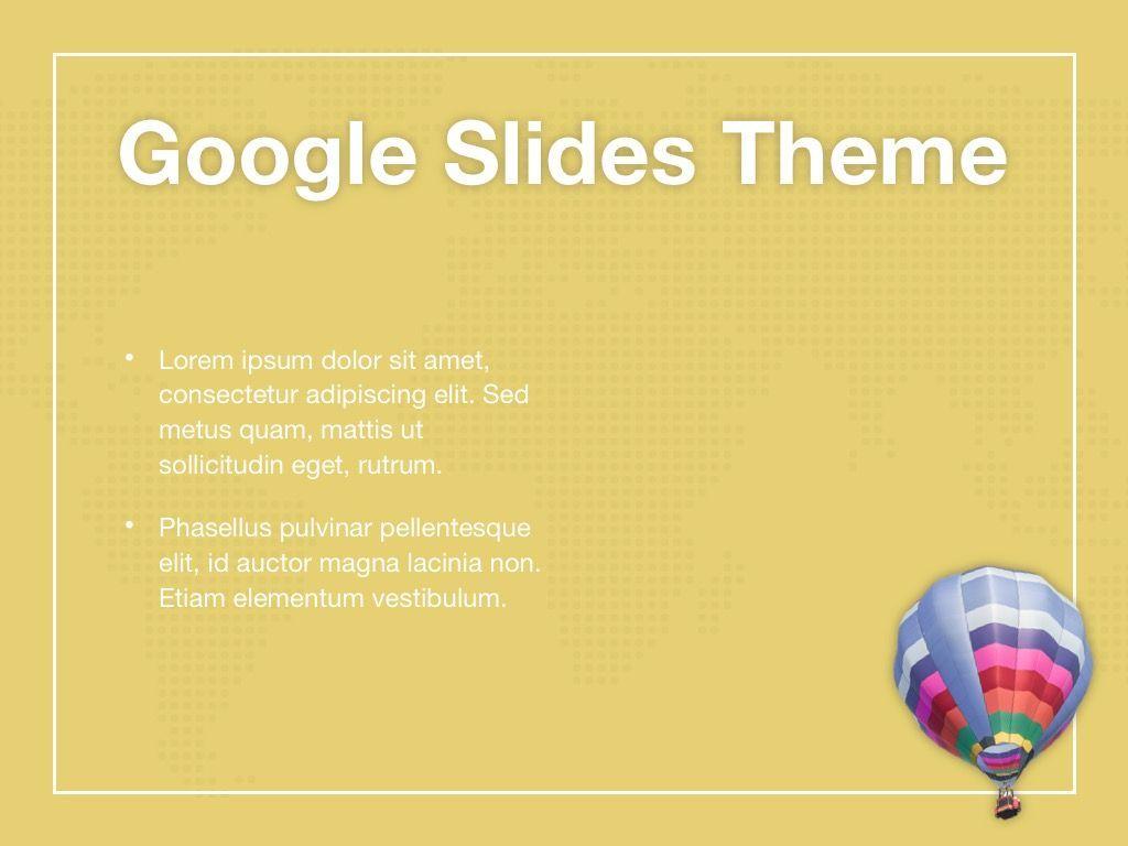 Hot Air Google Slides Theme, Slide 29, 05097, Presentation Templates — PoweredTemplate.com