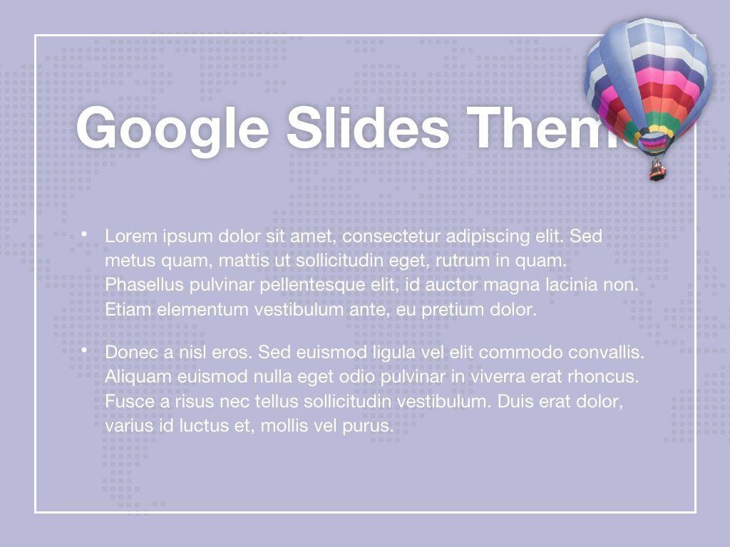 Hot Air Google Slides Theme, Slide 4, 05097, Presentation Templates — PoweredTemplate.com