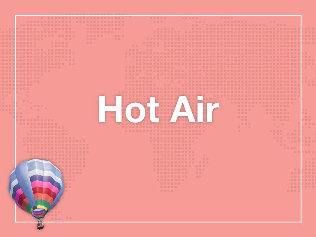 Hot Air Google Slides Theme, Slide 8, 05097, Presentation Templates — PoweredTemplate.com