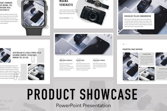 Presentation Templates: Product Showcase PowerPoint Template #05098