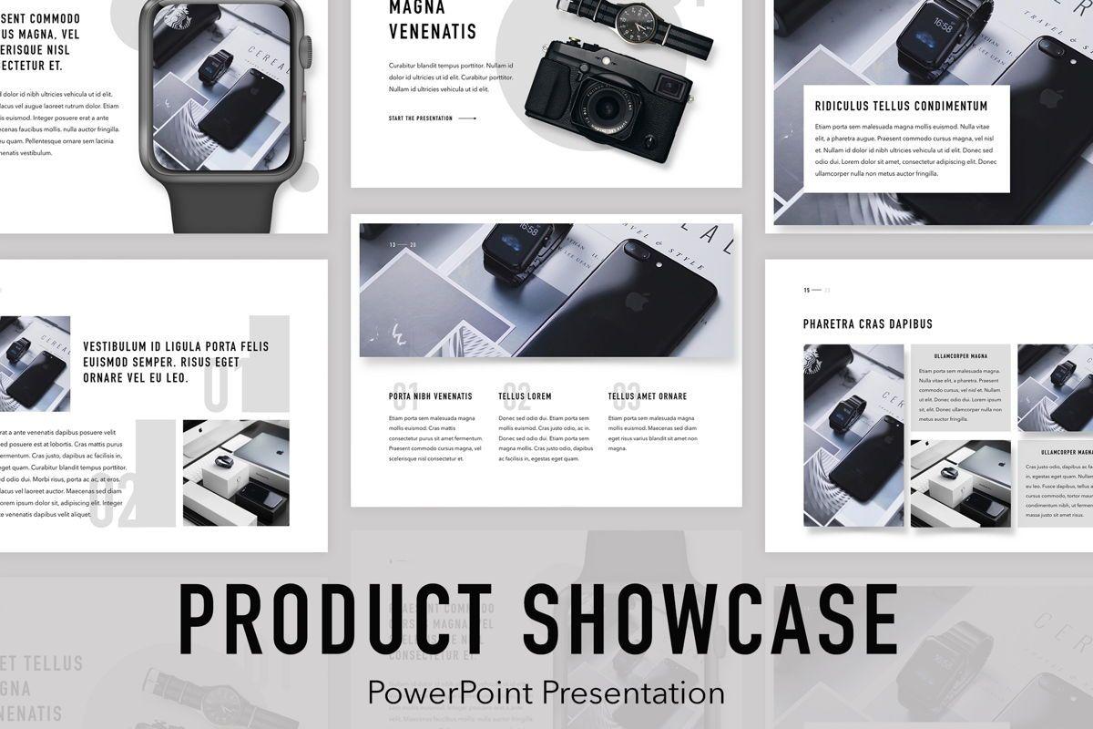 Product Showcase PowerPoint Template, 05098, Presentation Templates — PoweredTemplate.com