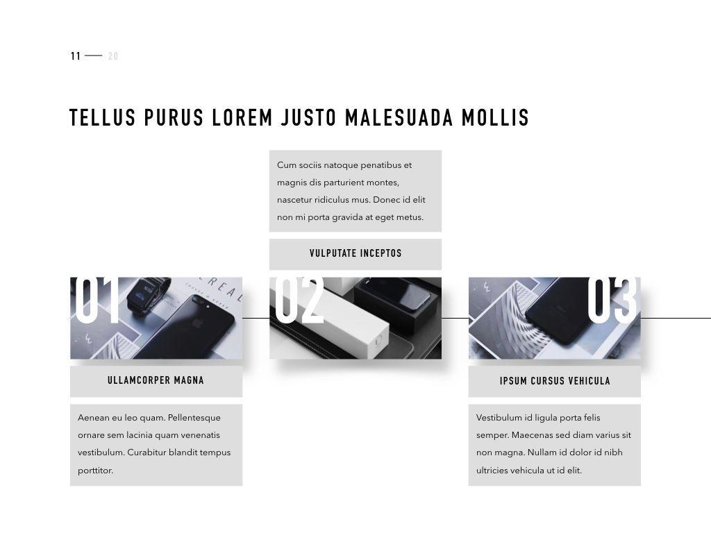 Product Showcase PowerPoint Template, Slide 12, 05098, Presentation Templates — PoweredTemplate.com