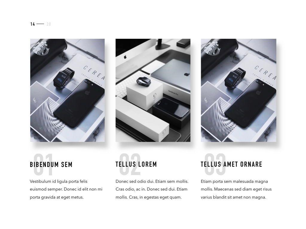 Product Showcase PowerPoint Template, Slide 15, 05098, Presentation Templates — PoweredTemplate.com