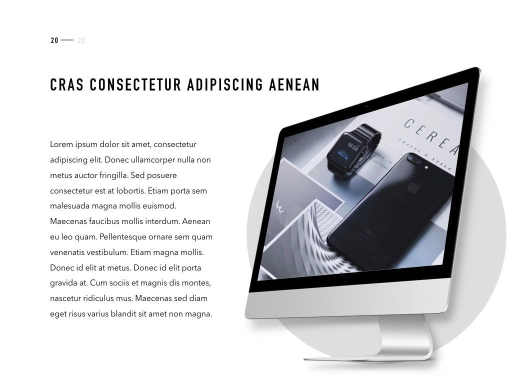 Product Showcase PowerPoint Template, Slide 21, 05098, Presentation Templates — PoweredTemplate.com