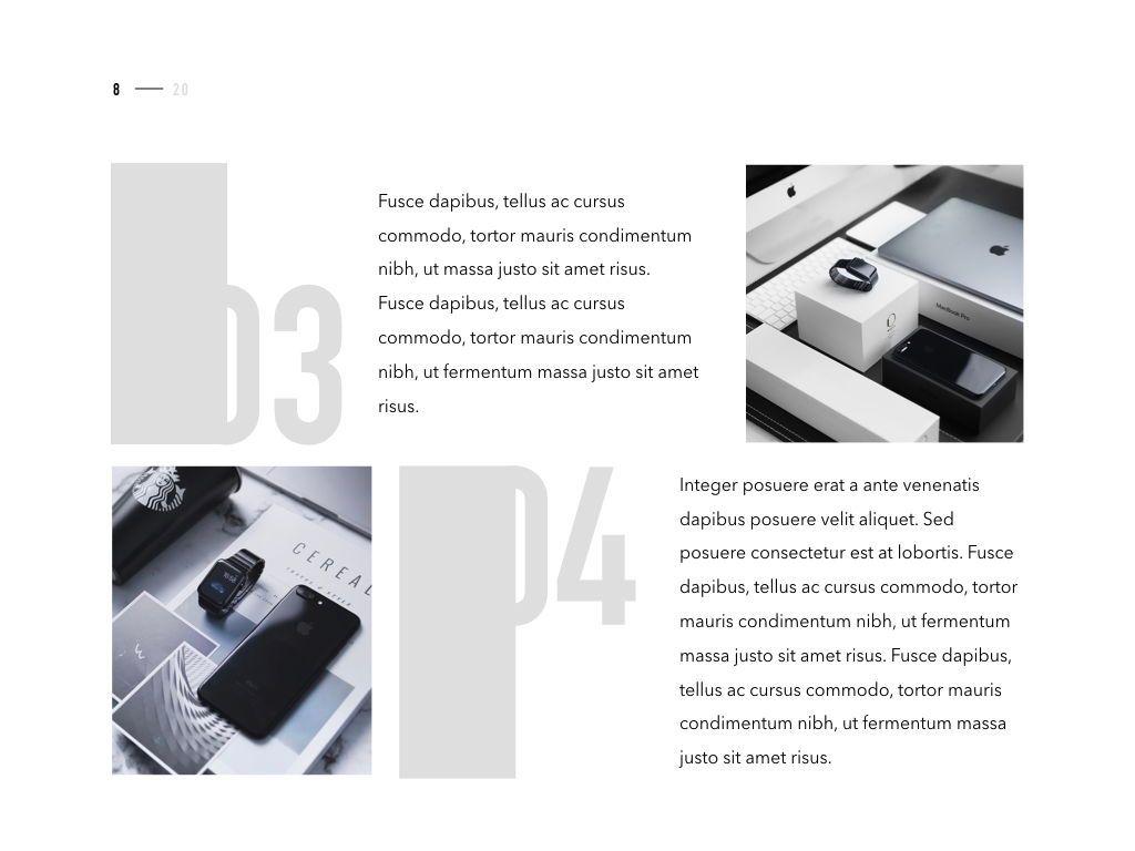 Product Showcase PowerPoint Template, Slide 9, 05098, Presentation Templates — PoweredTemplate.com