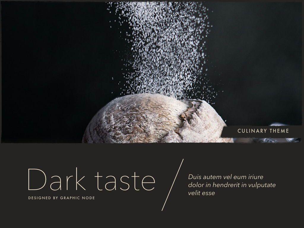 Dark Taste Powerpoint Presentation Template, Slide 14, 05101, Presentation Templates — PoweredTemplate.com