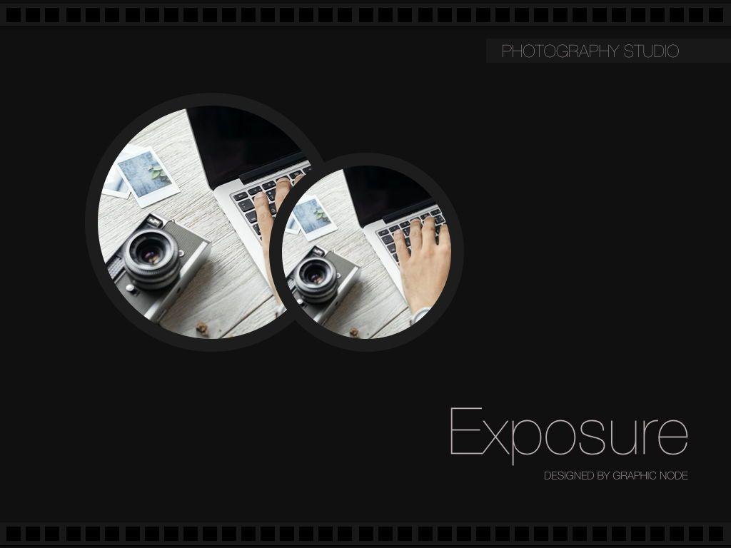 Exposure Powerpoint Presentation Template, Slide 10, 05104, Presentation Templates — PoweredTemplate.com