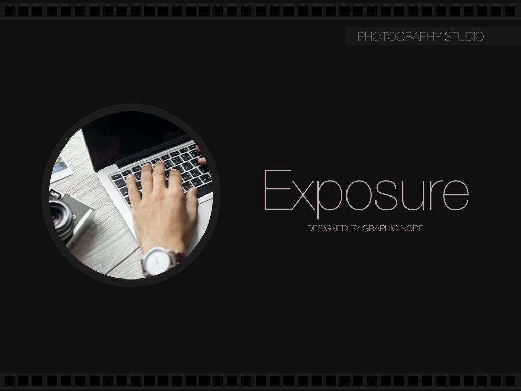 Exposure Powerpoint Presentation Template, Slide 11, 05104, Presentation Templates — PoweredTemplate.com