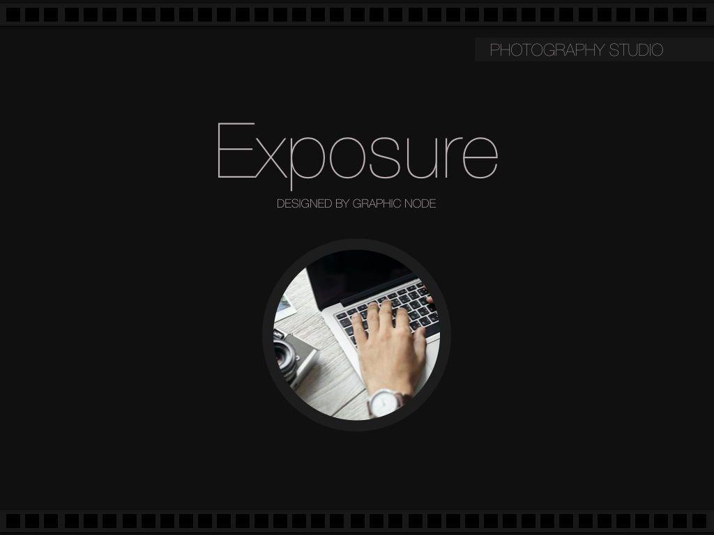 Exposure Powerpoint Presentation Template, Slide 5, 05104, Presentation Templates — PoweredTemplate.com