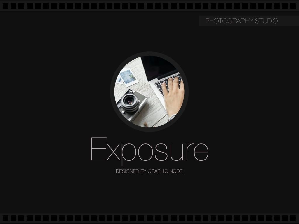 Exposure Powerpoint Presentation Template, Slide 6, 05104, Presentation Templates — PoweredTemplate.com