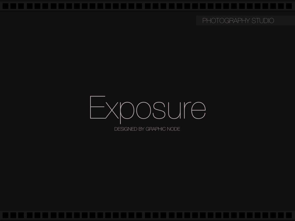 Exposure Powerpoint Presentation Template, Slide 9, 05104, Presentation Templates — PoweredTemplate.com