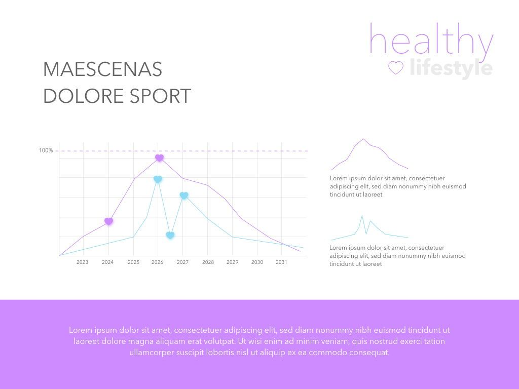 Fit Healthy Powerpoint Presentation Template, Slide 13, 05105, Presentation Templates — PoweredTemplate.com