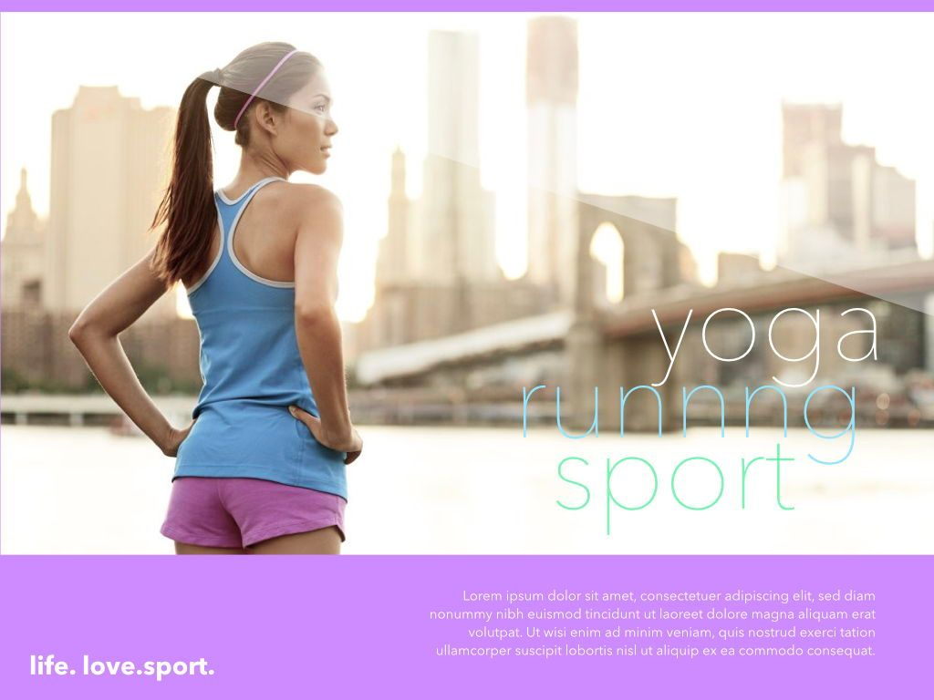 Fit Healthy Powerpoint Presentation Template, Slide 24, 05105, Presentation Templates — PoweredTemplate.com