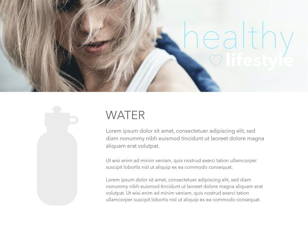Fit Healthy Powerpoint Presentation Template, Slide 26, 05105, Presentation Templates — PoweredTemplate.com