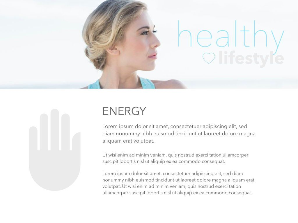 Fit Healthy Powerpoint Presentation Template, Slide 27, 05105, Presentation Templates — PoweredTemplate.com