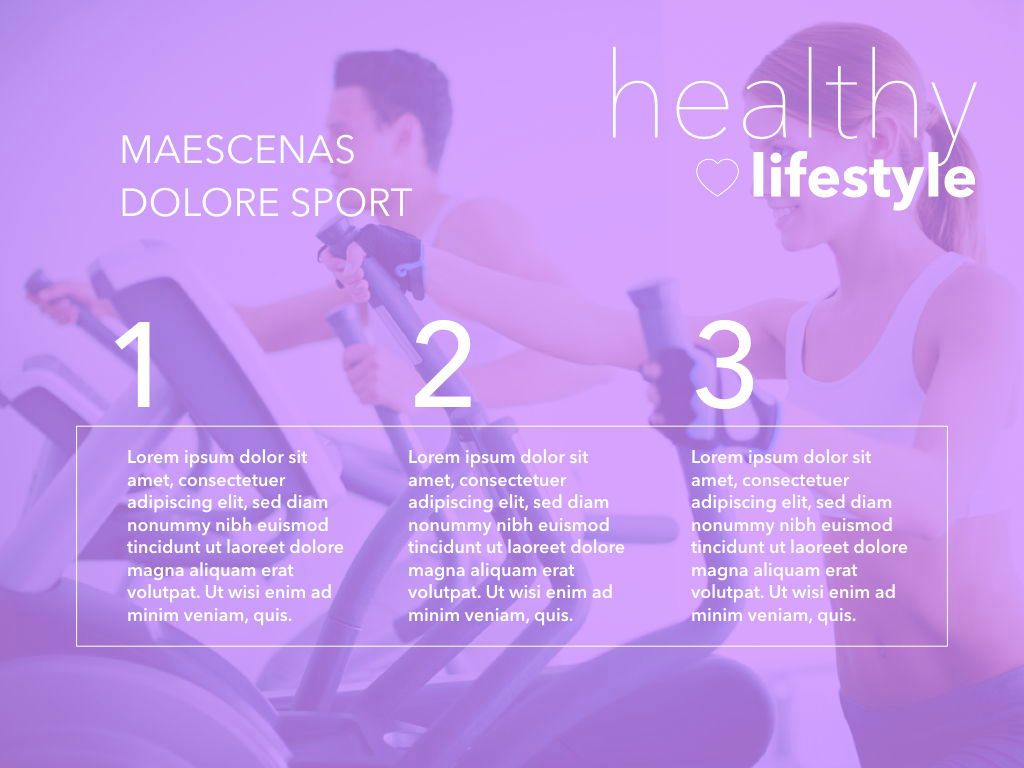 Fit Healthy Powerpoint Presentation Template, Slide 31, 05105, Presentation Templates — PoweredTemplate.com